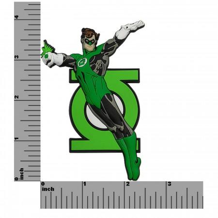 Green Lantern 3D Die Cut Rubber Magnet