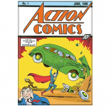 Superman Action Comics No 1 Magnet