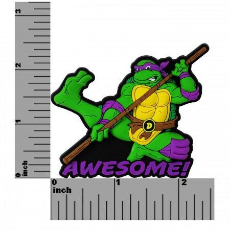TMNT Donatello Awesome Soft Touch PVC Magnet