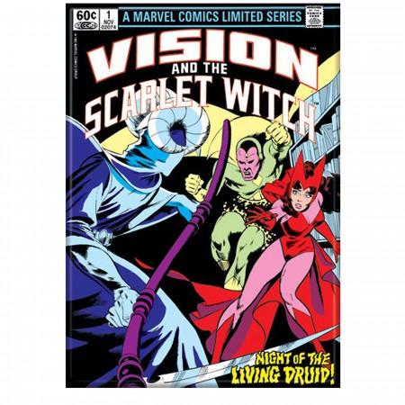 Vision and the Scarlet Witch #1 Cover Magnet