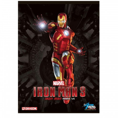 Iron Man Figure Dragon Model Kit