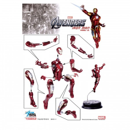 Iron Man Figure Dragon Model Kit