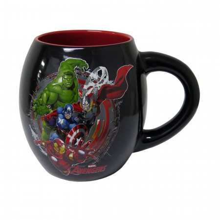 Avengers Assemble 18oz Barrel Mug