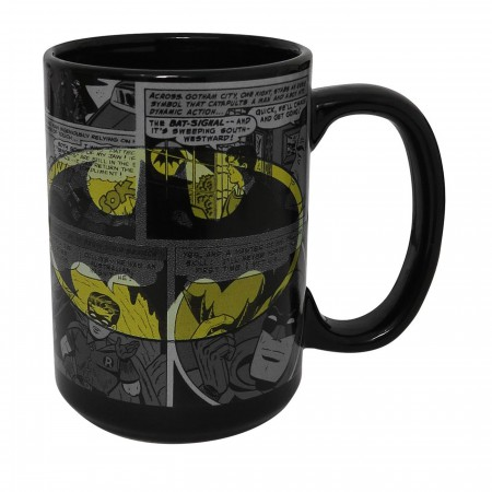 Batman Comic Print 15oz Mug