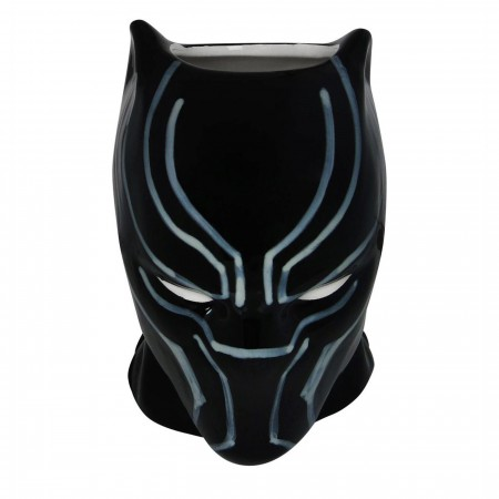 Black Panther Civil War Ceramic Sculpted Mug