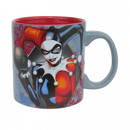 Harley Quinn Comic Panels 20oz Mug