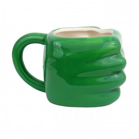 Hulk Fist Smash Scupled Mug