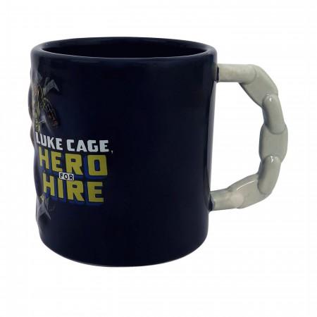 Luke Cage Hero for Hire Mug