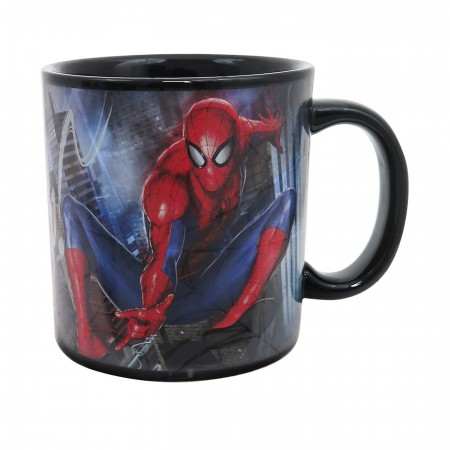 Spider-Man Web Slinger 20oz Heat Changing Mug
