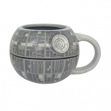 Star Wars Death Star Sculpted Ceramic Mug