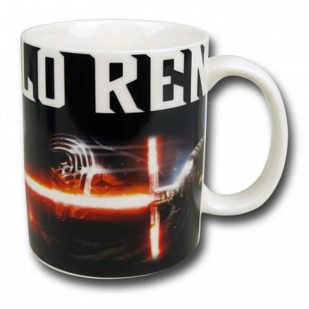 Star Wars Force Awakens Kylo Ren White Mug