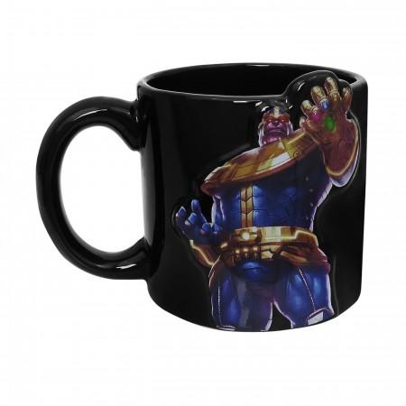 Thanos Bas-Relief 20oz Ceramic Mug