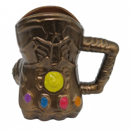 Thanos Infinity Wars Gauntlet 20oz Sculpted Ceramic Mug