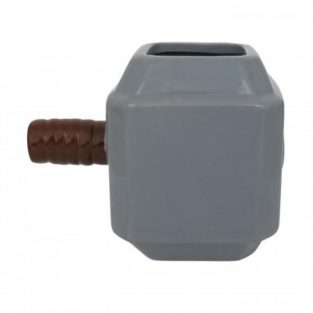 Thor Classic Hammer Sculpted Ceramic Mug