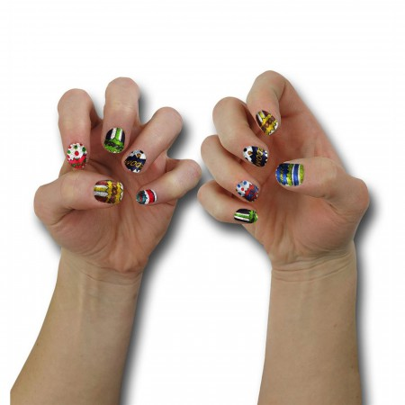 Comic Expressions Nail Wraps