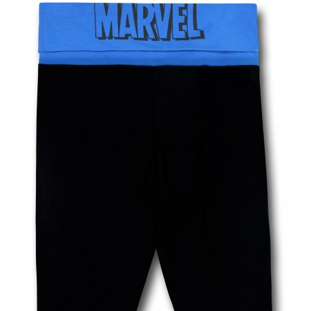 Marvel Group Logo Women's Yoga Pants
