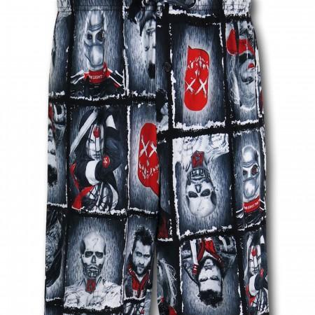 Suicide Squad Boxes Men's Pajama Pants