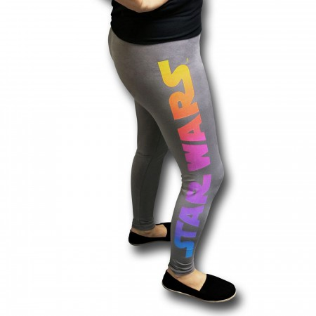Star Wars Ombre Yoga Pants
