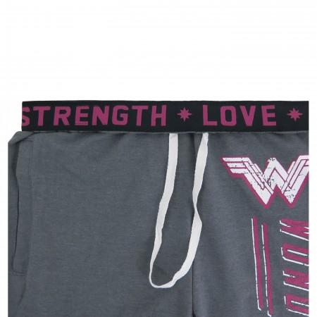 Wonder Woman Dye Heather Women's Jogger Pants