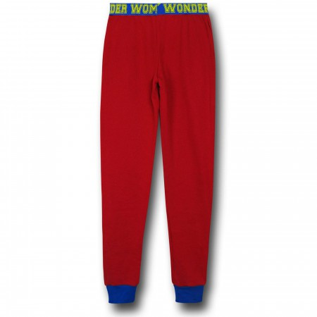 Wonder Woman Women's French Terry Pajama Pants