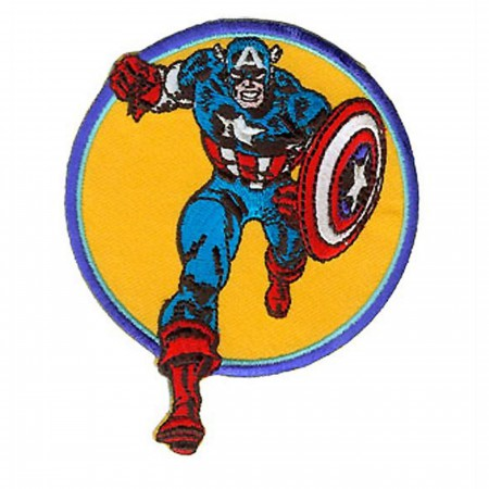Captain America Retro Run Patch