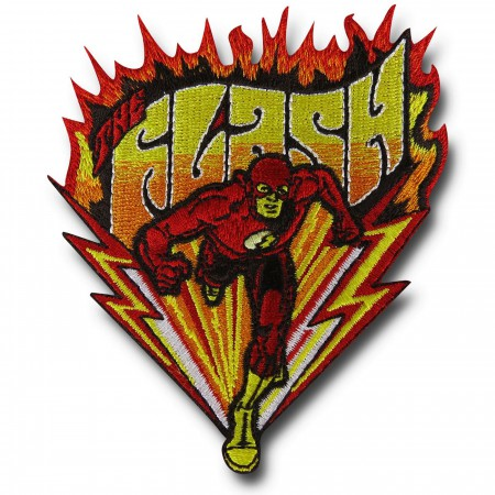 Flash Running Fire Patch