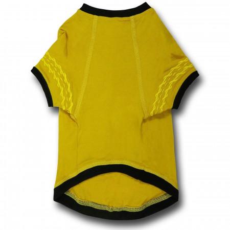 Star Trek Command Uniform Dog Shirt