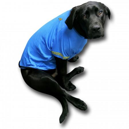 Star Trek Science Uniform Dog Shirt