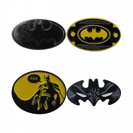 Batman Lapel Pin Set of 4