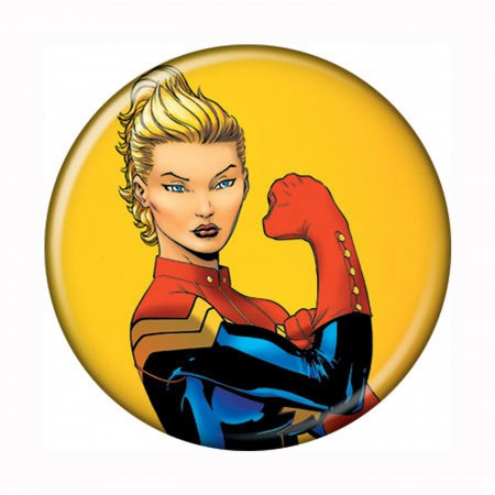 Captain Marvel #2 Button