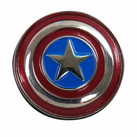 Captain America Shield Colored Lapel Pin