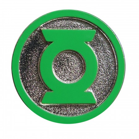 Green Lantern Symbol Colored Lapel Pin
