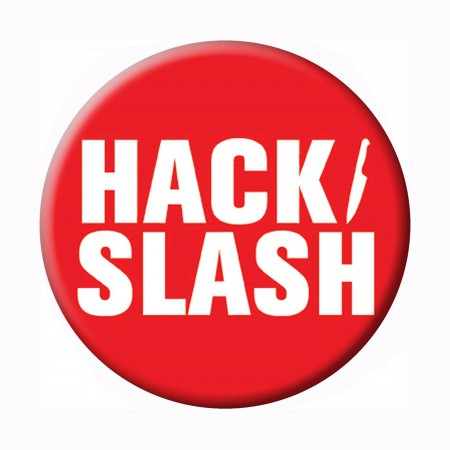Hack Slash Logo Button