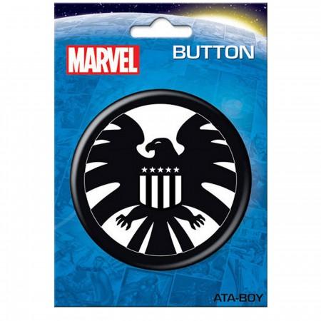 """SHIELD Symbol 3"""" Button"""