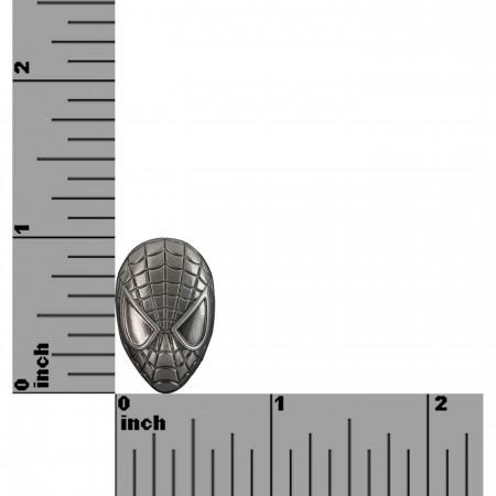 Spider-Man Head Pewter Lapel Pin