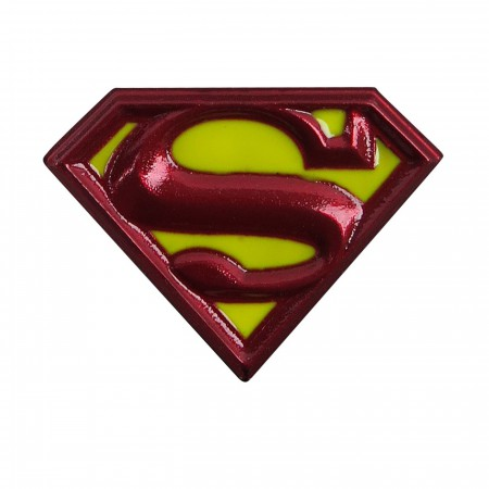 Superman Symbol Colored Lapel Pin