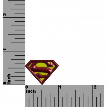 Superman Symbol Colored Lapel Pin