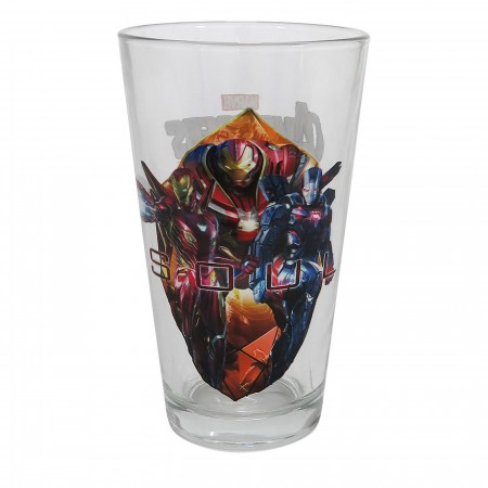 Avengers Infinity War Soul Pint Glass