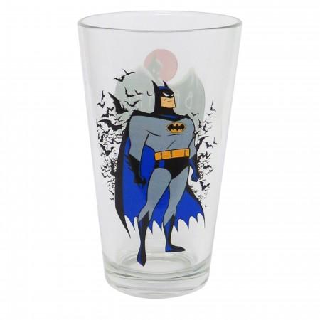 Batman Animated Series Pint Glass