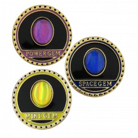 Avengers Infinity War Infinity Stones Lapel Pin Set