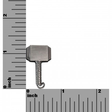 Thor Hammer Pewter Lapel Pin