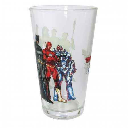 Justice League New 52 United Pint Glass