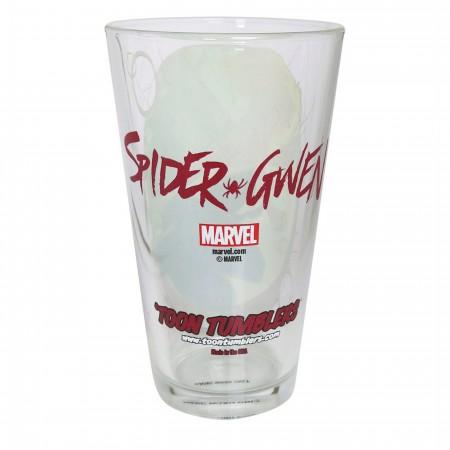 Spider-Gwen Pose Pint Glass
