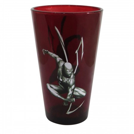 Spider-Man Iron Spider Pint Glass