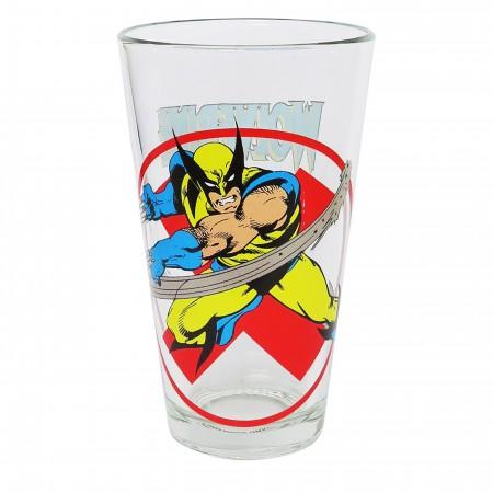 Classic Wolverine John Byrne Pint Glass