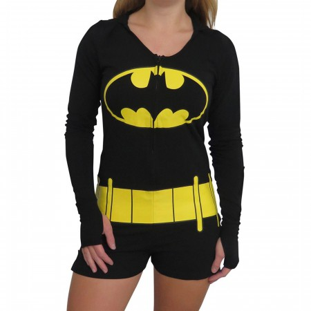 Batman Costume Women's Romper