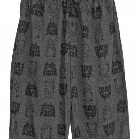 Black PantherT'Challa Tech Men's Pajama Pants