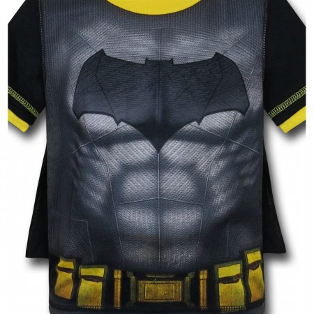Batman Vs Superman Kids Batman Caped Pajama Set