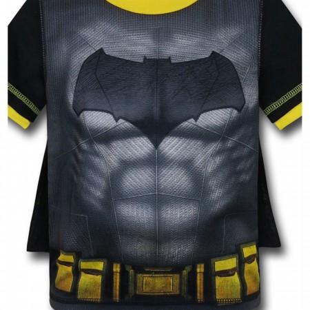 Batman Kids Caped Pajama Set with Shorts