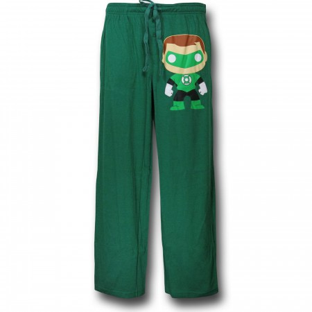 Green Lantern Funko Green Men's Sleep Pants